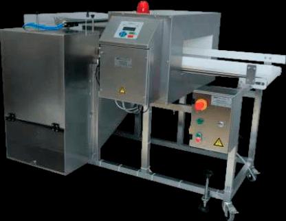 Detectores metales Alimentación Farma Otras industrias