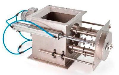 Reja magnética rotativa RMR limpieza automática